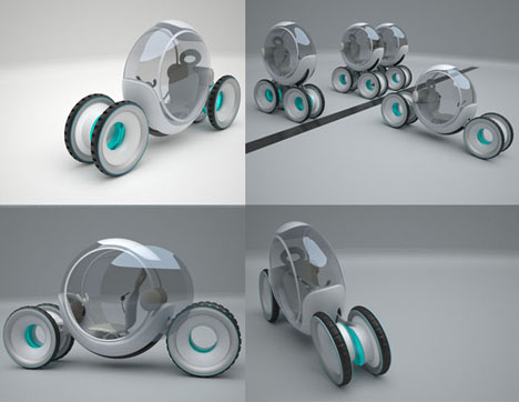 Revolute Futuristic Vehicle