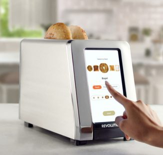 Modern Revolution R180 High-Speed Smart Toaster Makes Perfect Toast Every Morning