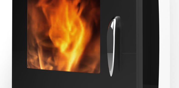 Revolution Stoves: Curve by Jerome Olivet