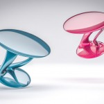 Organic Form Inspired Reya Table Features Dynamic Body