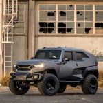 Rezvani Tank - Extreme Utility Vehicle Features Muscular Body Design