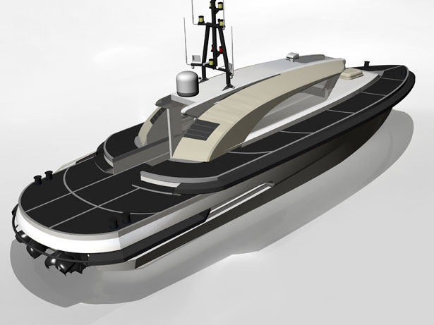 Ribbon Offshore Vessel by Vripack