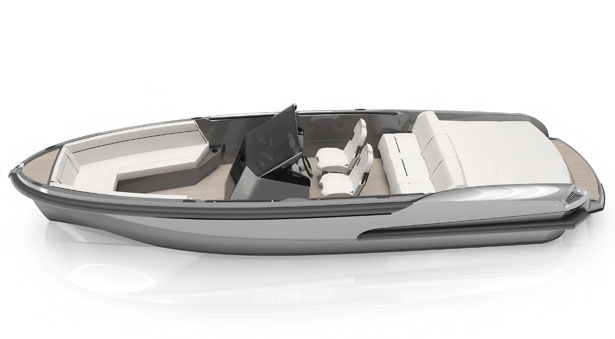 Ribbon R27 Boat by Ribbon Yachts