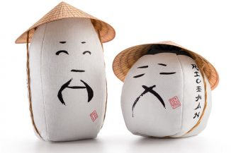 RICEMAN – Cute Rice Packaging Design Honors Farmer with Conical Hat Functions as A Measure