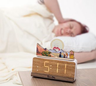 Rick and Morty Screaming Sun Alarm Clock Features A Little Sun That Screams Non-Stop to Wake You Up