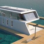 Rieul Floating Home with Dock for Yacht Owner
