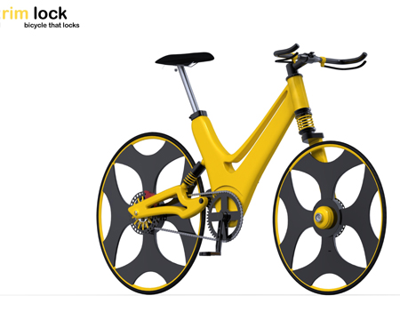 RimLock Bike is Designed to Lock Itself