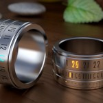 Ring Clock : Futuristic, Eco-Friendly, and Playful Ring that Displays The Time