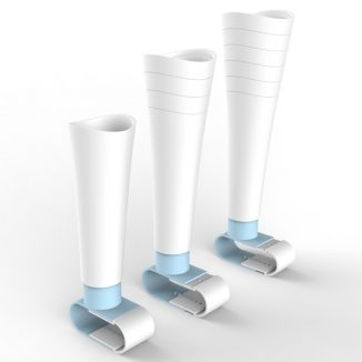 Ring Adjustable Prosthetic Leg Concept for Children in Developing Countries
