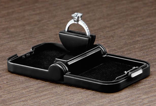 Ring Stash Slim Engagement Ring Box by Marvin Velazquez