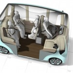 All Electric Rinspeed microMAX Concept Car For Short Distance Transfers