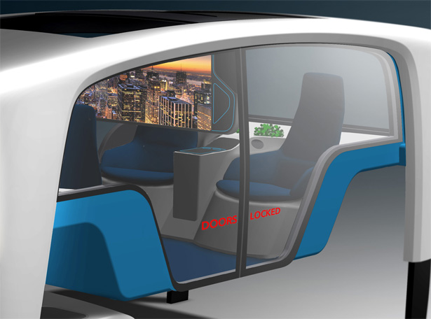 Rinspeed Snap Self Driving Concept Vehicle