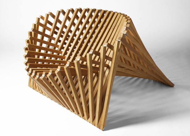 Rising Furniture Series - Rising Chair by Robert van Embricqs