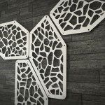 Risot Decorative Wall Panel by Massimo Battaglia