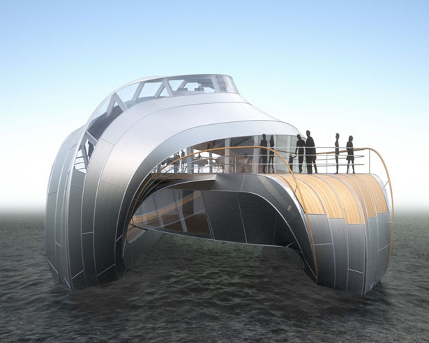 River Boat Concept by Heatherwick Studio