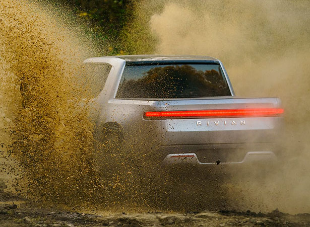 Rivian R1T All Electric Adventure Truck