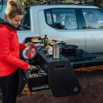 Rivian R1T Electric Pickup with Built-in Electric Camp Kitchen