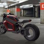 RMK E2 Electric Motorcycle : A Single Battery Charge Takes You Up to 180miles