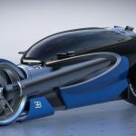 Futuristic RMNGVN Bugatti 100M Concept Vehicle Looks Like a Batmobile