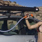 Road Shower : Outdoor Enthusiasts Can Enjoy Hot Shower Wherever They Go