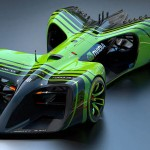 Roborace Concept Car by Daniel Simon