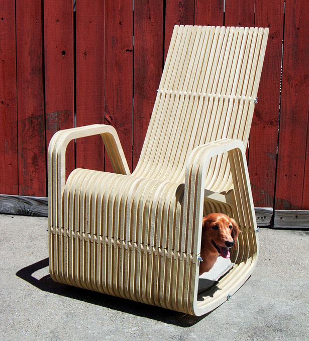 Rocking 2-gether chair by Paul Kweton