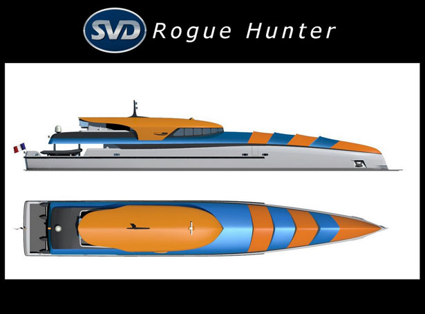 Rogue Hunter Explorer Ship by Sylvain Viau
