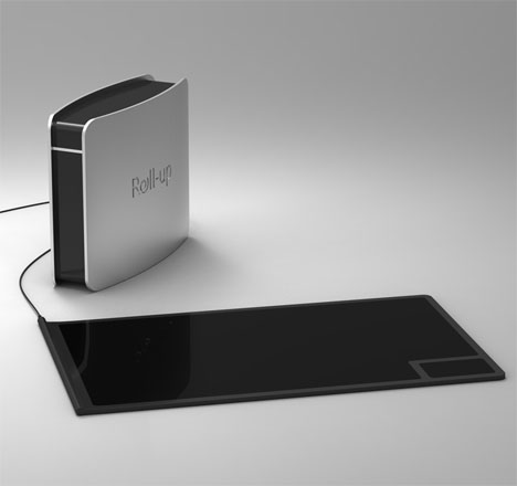 Roll Up : Foldable Induction Cooktop by Goran Bjelajac