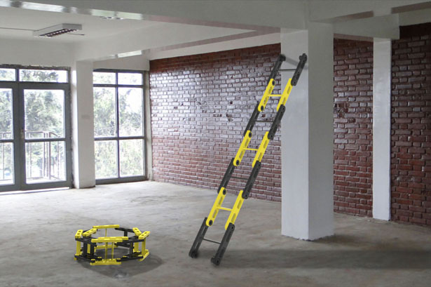 Rollable Ladder by Chacko T Kalacherry