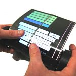 MagicScroll - World's First Rollable Touch-Screen Tablet by Queen's Human Media Lab
