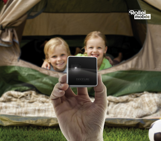 Rollei Innocube Pico Projector (IC200C) Is A Perfect Companion for Your Smartphone