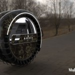 RollEvac Military Med-Evacuation Vehicle Concept to Carry Wounded Soldiers to Army Medical Center