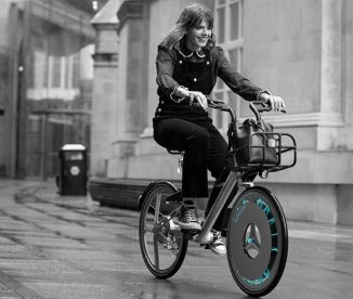 ROLLOE Bicycle Wheel Concept – Clean Air as Your Ride