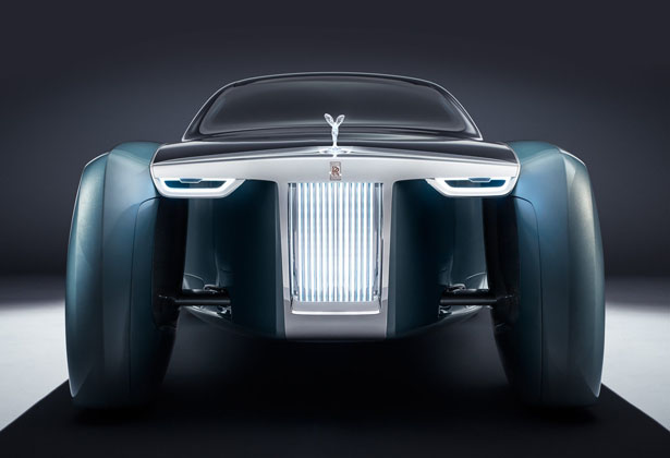 Rolls-Royce Vision Next 100: Rolls Royce 103ex Could Be The Future of Luxury Mobility