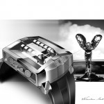 Rolls Royce Watch Concept by Nicolas Lehotzky