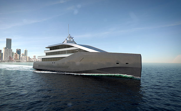 Rolls-Royce Crystal Blue Luxury Yacht with Advanced Technology and Hybrid Propulsion