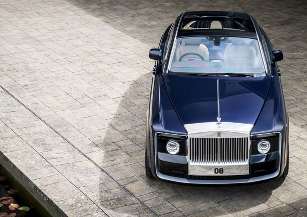 Rolls Royce Sweptail Coupé Is Designed and Tailored to Fit A Specific Customer Request