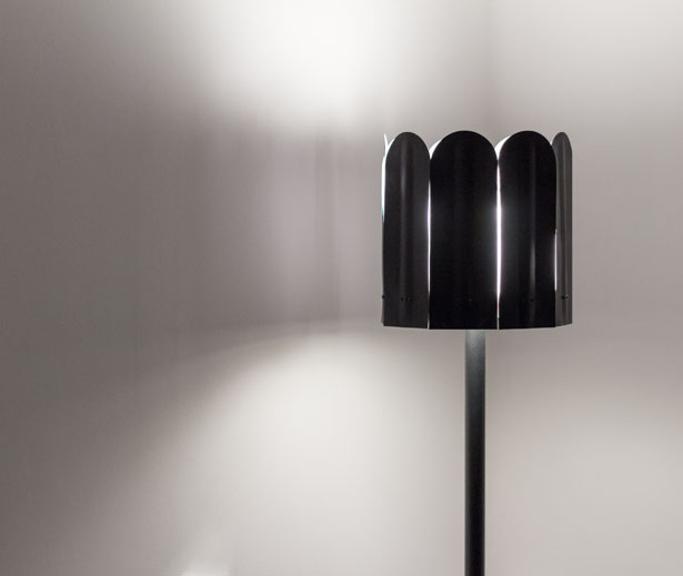 Rolo Floor Lamp with Petals by Smallgran