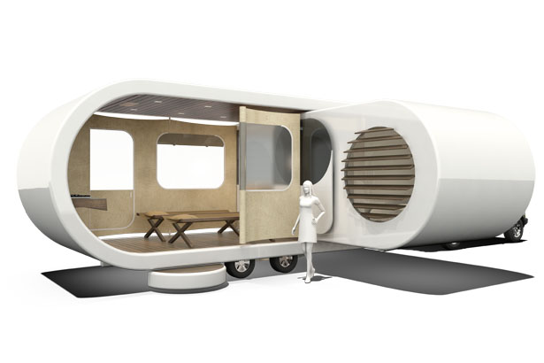 Romotow Mobile Living Unit by W2