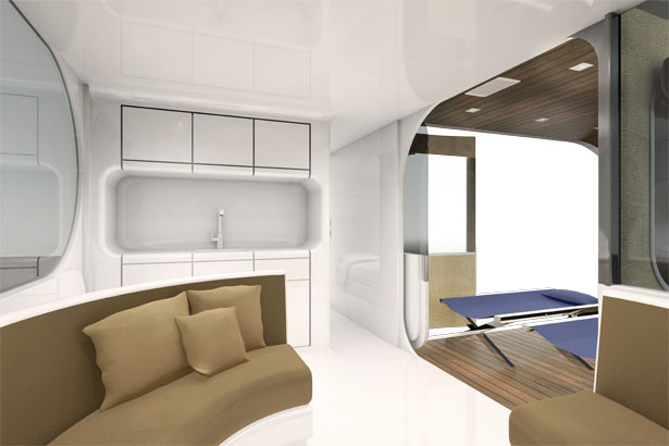 Romotow Mobile Living Unit That Provides You Space Like No Other
