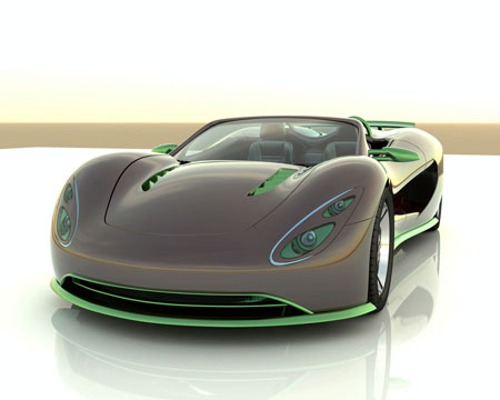 ronn scorpion hydrogen sports car concept