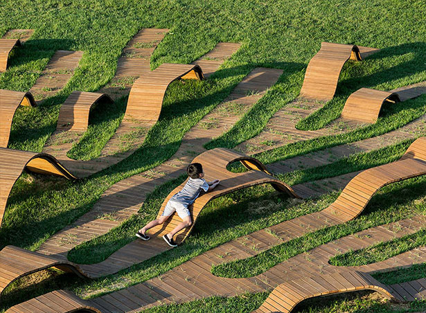 Root Bench - Fantastic Outdoor Furniture by Yong Ju Lee
