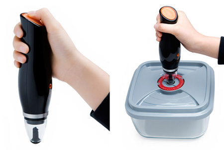 Rosaline, Elegant and Smaller Vacuum Food Saver Design
