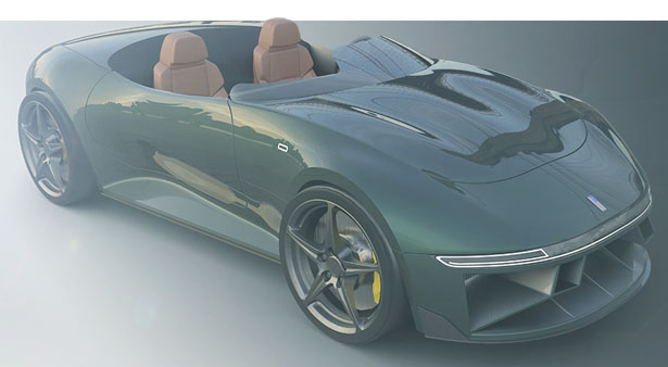 Roseto 11S Concept Car by Shashank Shreekanth