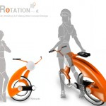 Rotation City Bike : Rotate and Fold Your Bike !