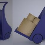 Sack Truck Design by Kyle Darlington and Enzo Barrow