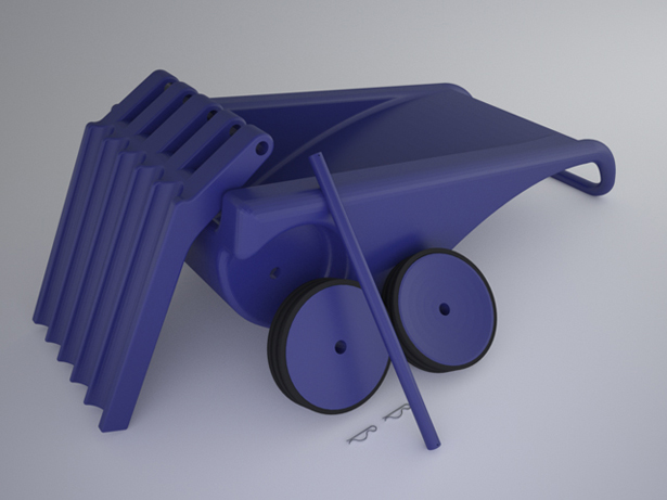 Rotational Molding Sack Truck