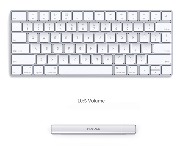RoType Transparent Rollable Keyboard - Flexible Portable Keyboard