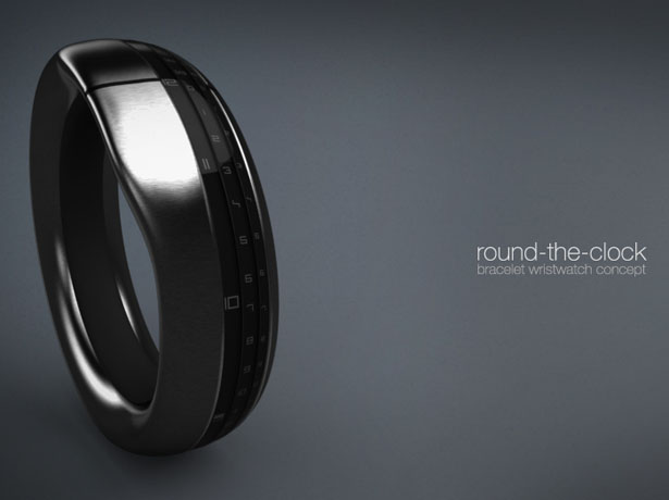 Round-The-Clock watch concept by Ben Koros