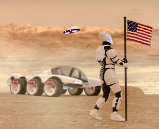 Futuristic Remote Operations Vehicle and Observatory (ROVO) for NASA